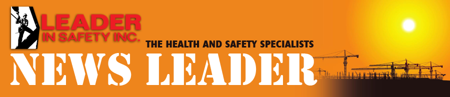 "Leader In Safety, the health and safety specialists, ""News Leader"" newsletter"